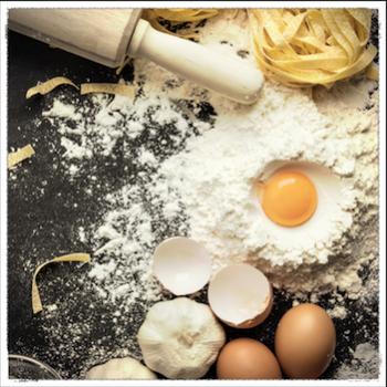 Fettuccine con salsa di Pollo e Dunetti